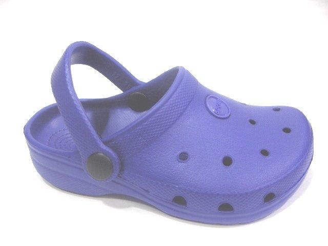 Girls Boys Kids' Children Clogs Mules Slides Sandals Royal Blue, Size Toddler 6