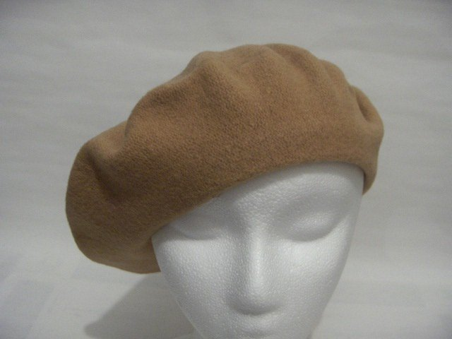 Women Men Women French  Camel Wool Slouchy Beret Tam Hat Cap