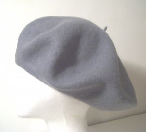 Women Men Gray Slouchy Beret Tam Hat Cap Newsboy Beanie Skull