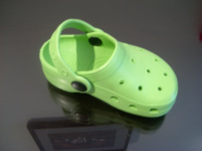 Kids' Children Clogs Mules Slides Sandals Green Water Shoes Toddler Size 7