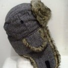 Brand New Men Women Herringbone Bomber Trooper Trapper Winter Snow Ski Hat