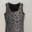 NWTSequin Leopard Sexy Tank Top Camisole Cami Cocktail Stretch Plus Size 1X