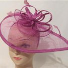 Fascinator Formal Dress Lavender Church Wedding Bridesmaids Kentucky Derby Hat