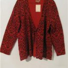 Brand New Women Plus Size 1X Tunic Cardigan Cover Shirt Dress Tops Long Sleeves