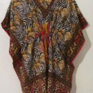 Kimono Tunic Top Blouses Maternity Beach Swimwear Cover S M L XL 1X 2X 3X 4X