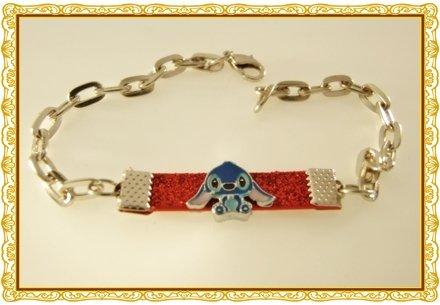 Stitch Rhodium Anklet / Bracelet