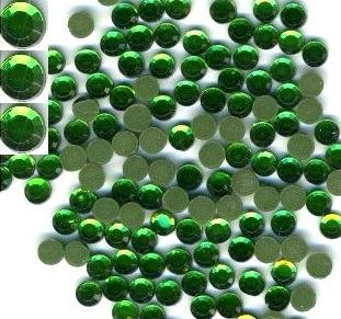 Emerald Rhinestiones Hot Fix 5mm/20ss