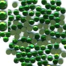 Emerald Rhinestones Hot Fix 6mm 30ss