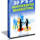 The 30 P's of Successful Marketing eBook