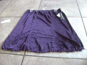 WOMENS briggs new york sz l nwt skirt