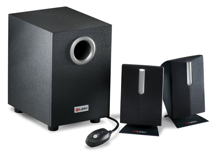 Labtec Pulse 285 Speakers & Subwoofer