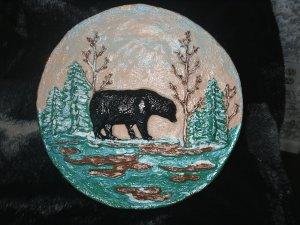 Bear Plaque