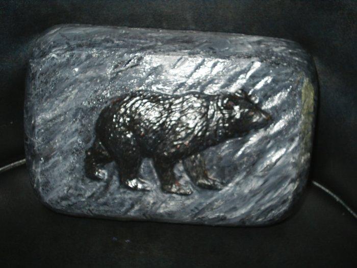 Bear Brick Stone