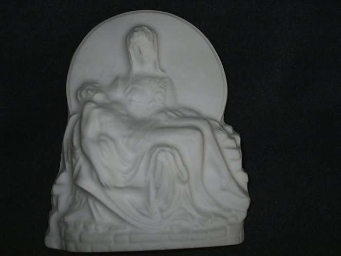 Mother Mary Holding Jesus Plaque