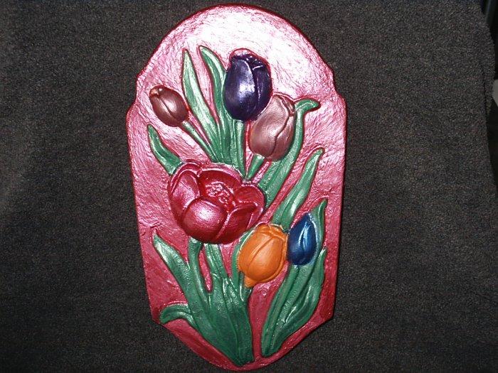 Tulip Plaster Plaque