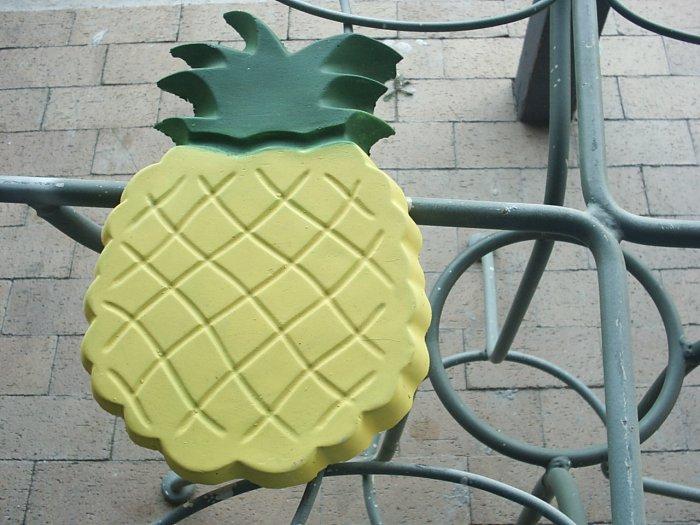 Pineapple Plaque