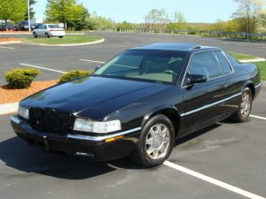 1997 Cadillac Eldorado ETC Coupe Black CHEAP