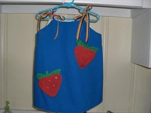 Strawberry Jumper/Dress