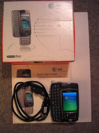Pantech DUO AT&T Cell-Phone PDA Phone