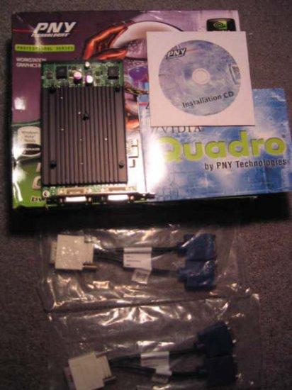 PNY NVIDIA Quadro NVS 440 x1 256MB DDR3