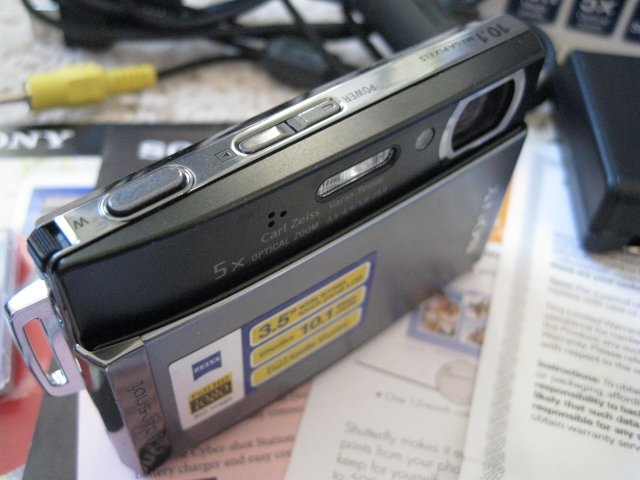 Sony Cybershot DSC-T300 10.1MP Smile Shutter