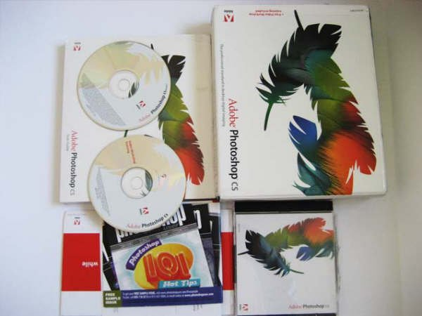 Original Adobe Photoshop CS Software for Windows
