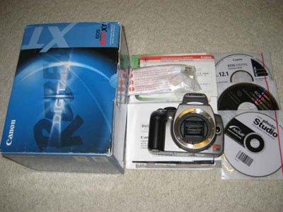 Canon EOS 350D XT 8MP Rebel Digital SLR Camera Body Only