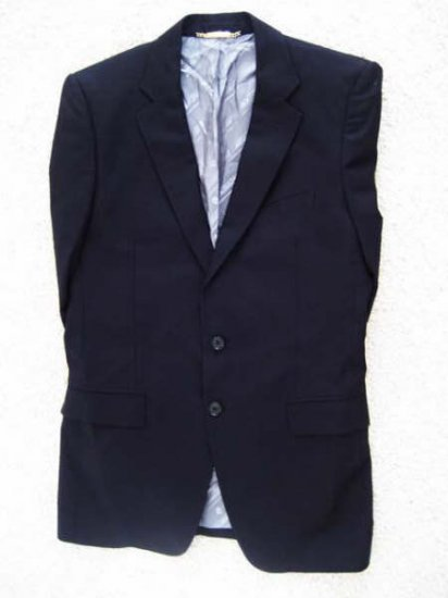 Dolce & Gabbana D&G Black Men Suit G2496T FU6GQ Sz 52