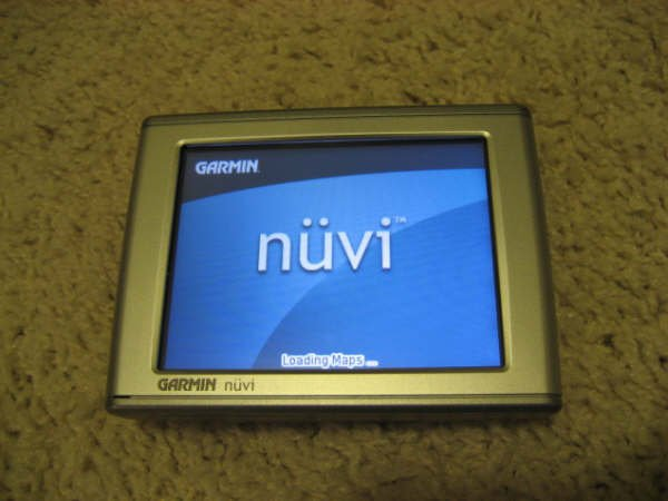 "Garmin Nuvi 350 GPS Navigation System 3.5"" LCD MP3 Photo Text-to-Speech"