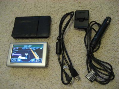 Garmin Nuvi 660 GPS Navigation Integrated FM BT Calling