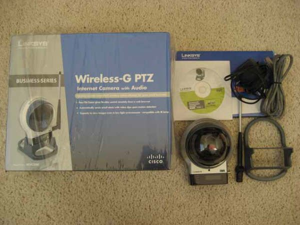 Linksys Wireless Internet Camera with Audio