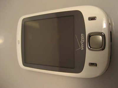 White Verizon HTC Touch XV6900 TouchFLO PDA MP3 AS-IS for Parts or Repair