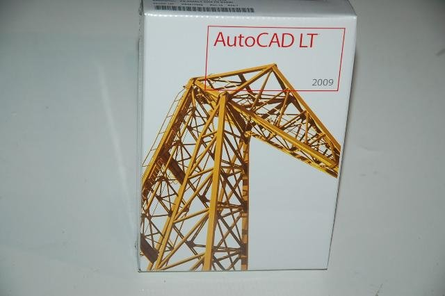Sealed French Version Autocad LT 2009 2D Design Software DVDs (32Bits/64Bits)