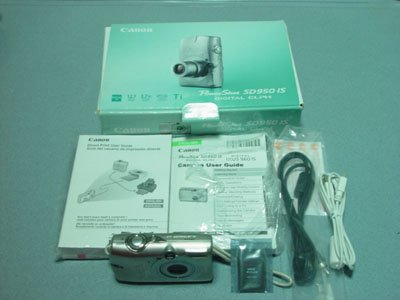 Canon Powershot SD950is Titanium 12MP 3.7X Opt Zoom