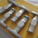 Init Home Theater Speaker Mounts (5-Pack) Silver NT-SWM5S
