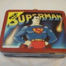 Superman Cartoons Collectible Tin with Handle 2 DVDs