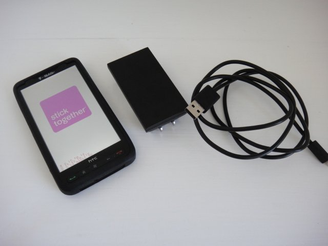 "T-Mobile HTC HD2 Leo 4.3"" Multi Touch LCD Window Mobile 6.5 1Ghz Wifi GPS BT 5.0MP"