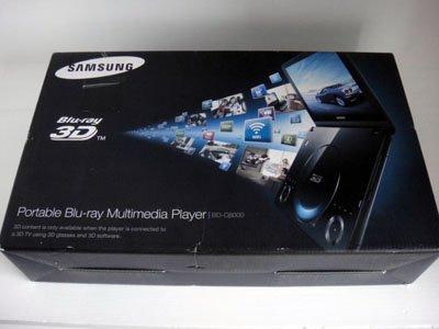 "Samsung BD-C8000 10.3"" LCD 1080p Blu-ray Disc Player Wifi Netflix Hulu 3D 1GB Mem Internet TV"