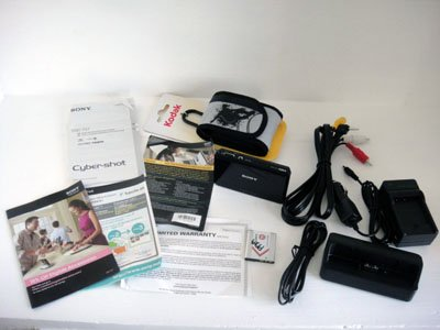 Sony Cybershot DSC-TX7 Black 10.2MP HD AVCHD Paranoma Carl Zeiss