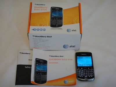 Blackberry Bold 9700 AT&T Wifi GPS Video Camera GSM
