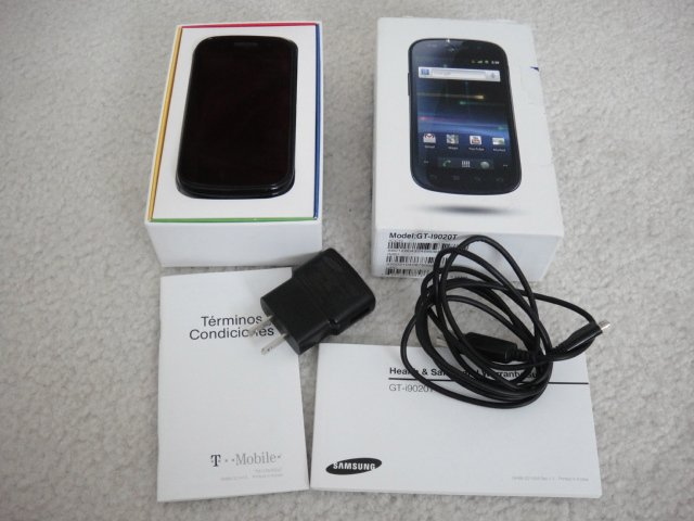 "T-Mobile Samsung Nexus S Android 2.3 1Ghz 4"" Super Almoled LCD 16GB NFC"