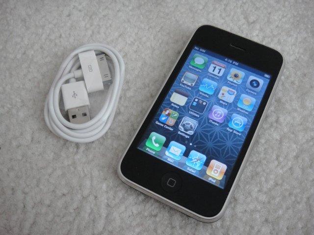 Apple Iphone 3Gs 32GB Black Firmware 4.3.3 Jailbreak and Unlocked Sim Card ready