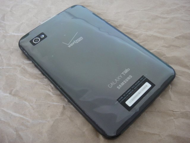 "Verizon Samsung Galaxy Tab 7"" Android Tablet Wifi 3G Camera 16GB"