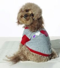 Small Dog Luv T-Shirt - Gray