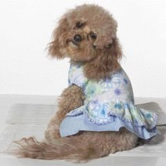 Small Dog Summer Daze Dress - Periwinkle