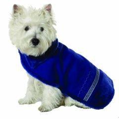 Large Dog Eskimo Faux Shearling Coat - Sapphire