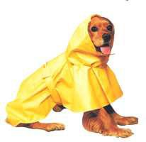 X Small Dog Puddles Dog Raincoat - Yellow