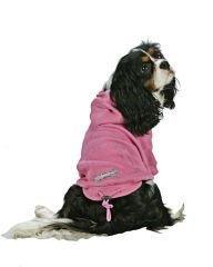 XX Small Dog Thermal Hoodi - Pink