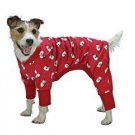 X Small Dog Sweet Dream Pajamas - Red