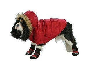 X Small Dog Everest Snow Parka - Red